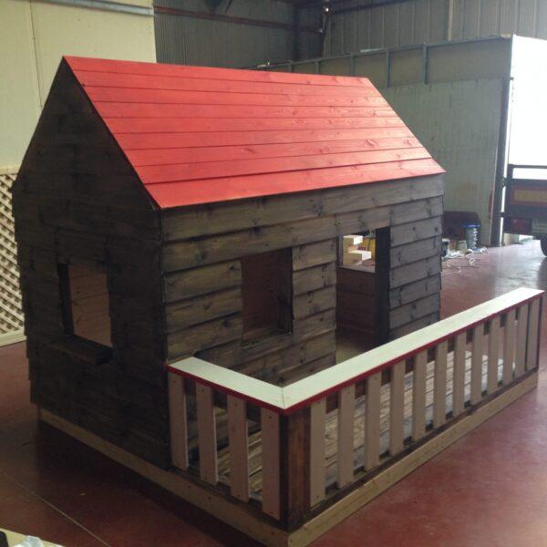 בתים מעץ