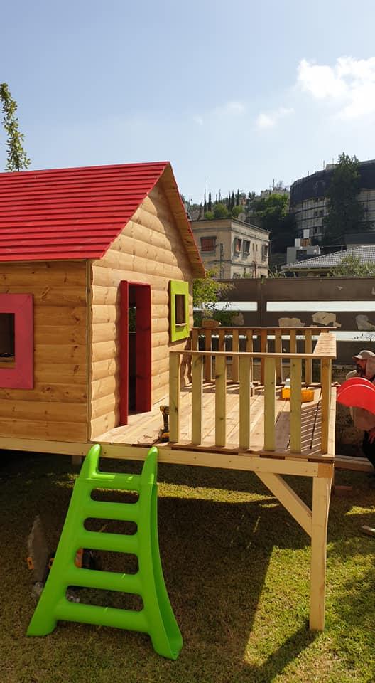 בתים מעץ לילדים